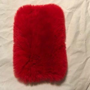 Accessories - Iphone 7plus case, natural fur
